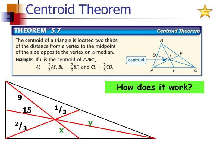 Centroid Theorem