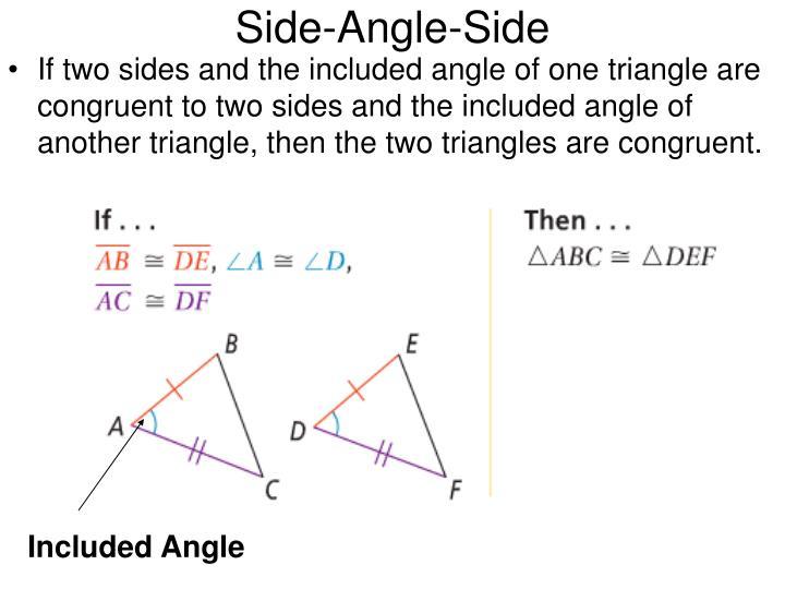 Side-Angle-Side