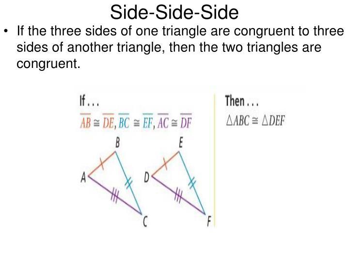 Side-Side-Side