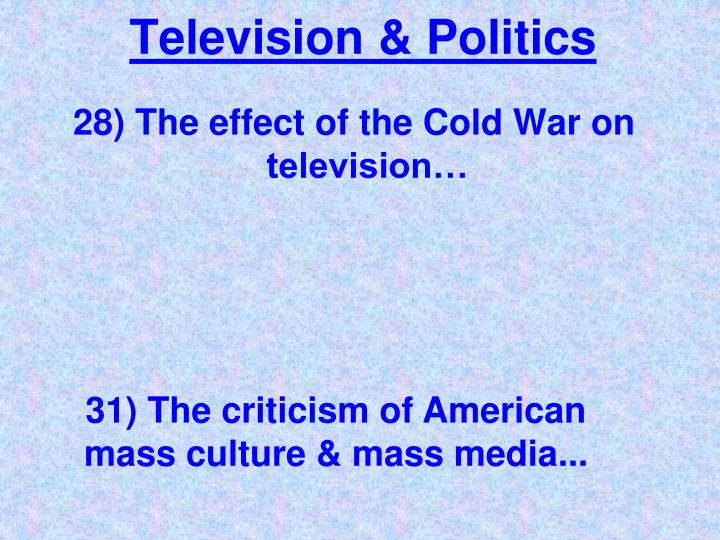 television in politics 51 years ago today, then-senator kennedy penned an essay for reader's digest  on tv's impact on politics.