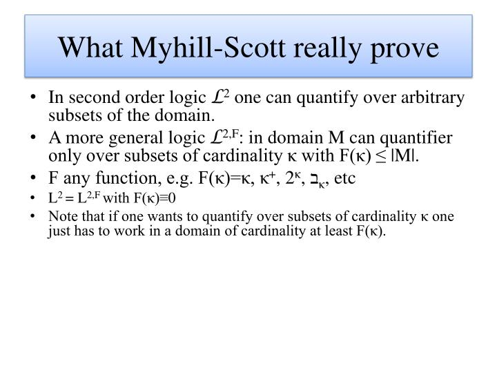 What Myhill-Scott really prove