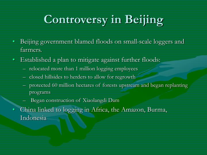 Controversy in Beijing