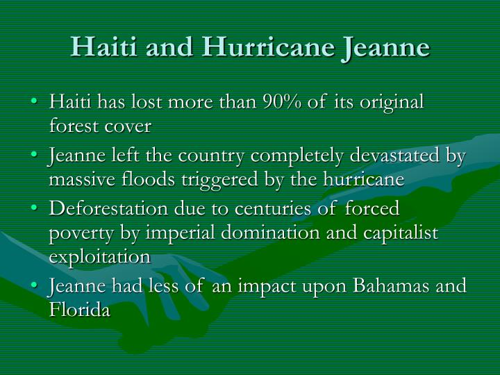Haiti and Hurricane Jeanne