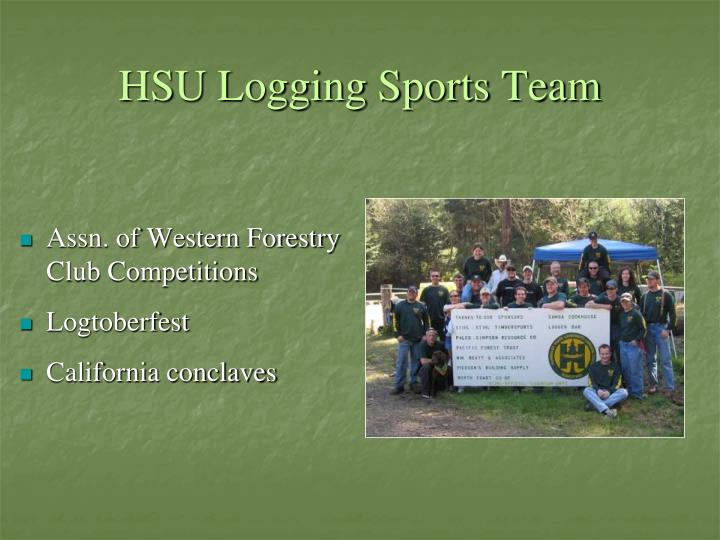 HSU Logging Sports Team