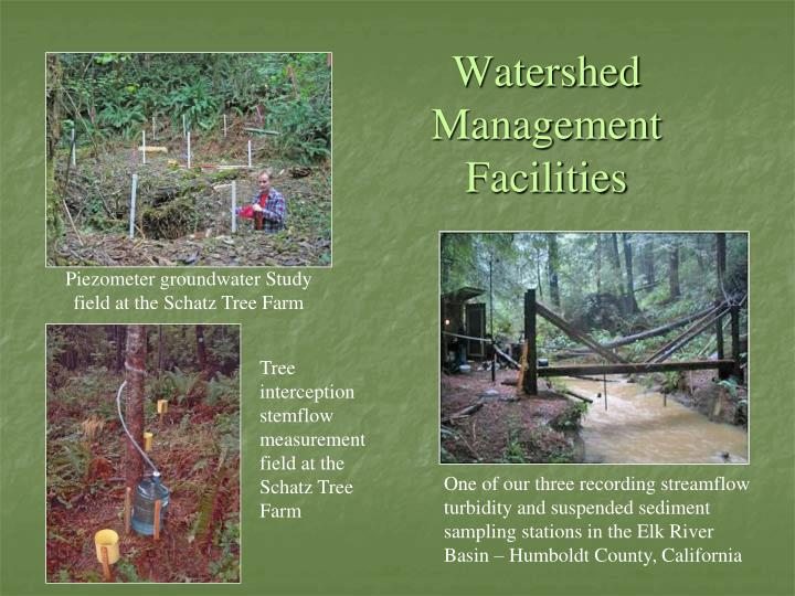 Watershed Management Facilities
