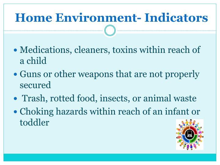 Home Environment- Indicators