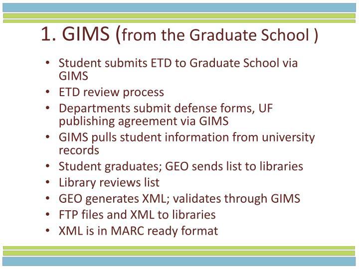1. GIMS (