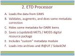 2 etd processor