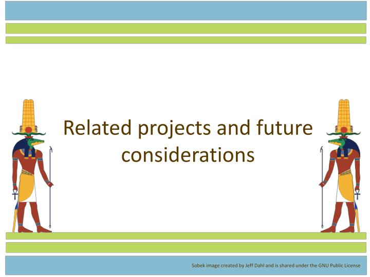Related projects and future considerations