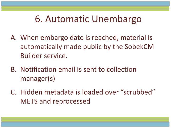 6. Automatic