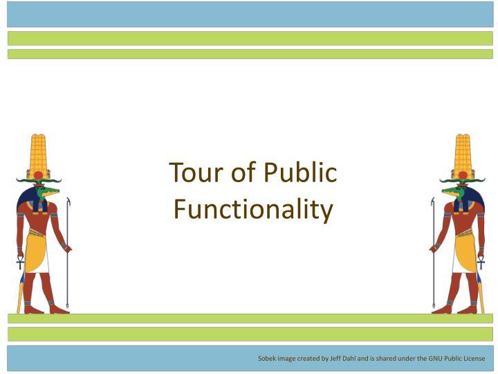 Tour of Public