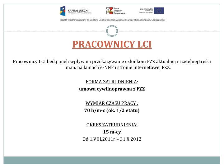 PRACOWNICY LCI
