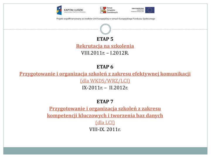 ETAP 5
