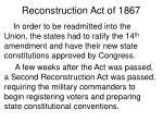 reconstruction act of 18673