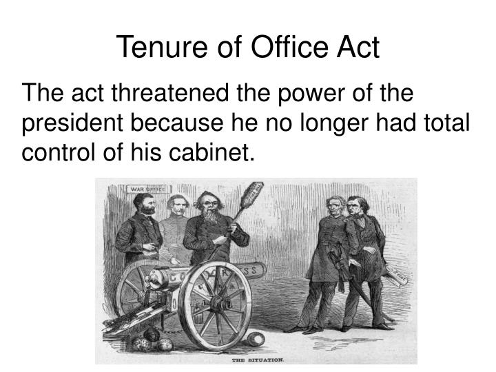 Tenure of Office Act