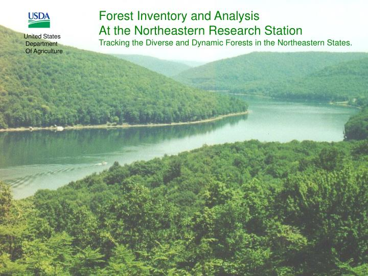 Forest Inventory and Analysis