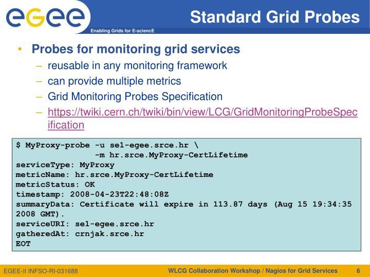 Standard Grid Probes