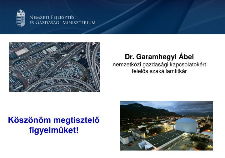 Dr. Garamhegyi Ábel