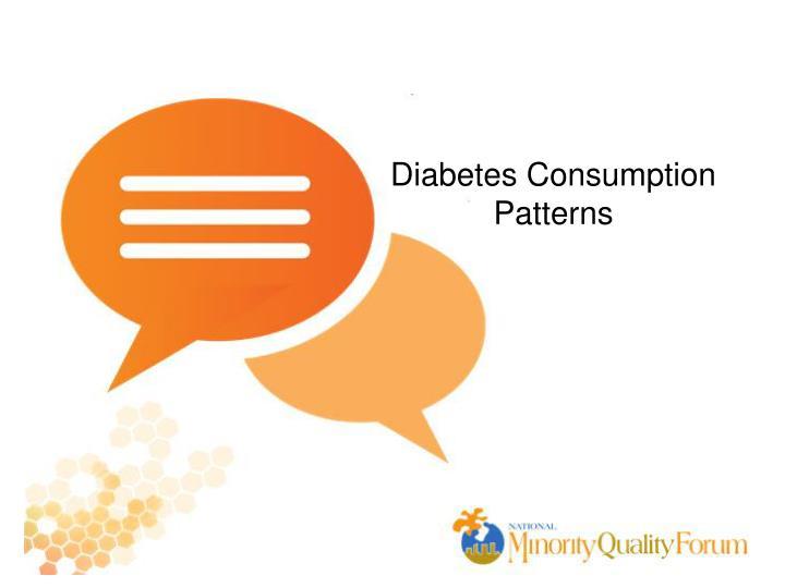 Diabetes Consumption
