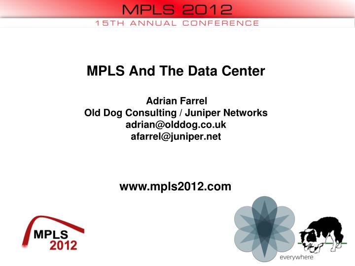 MPLS And The Data Center