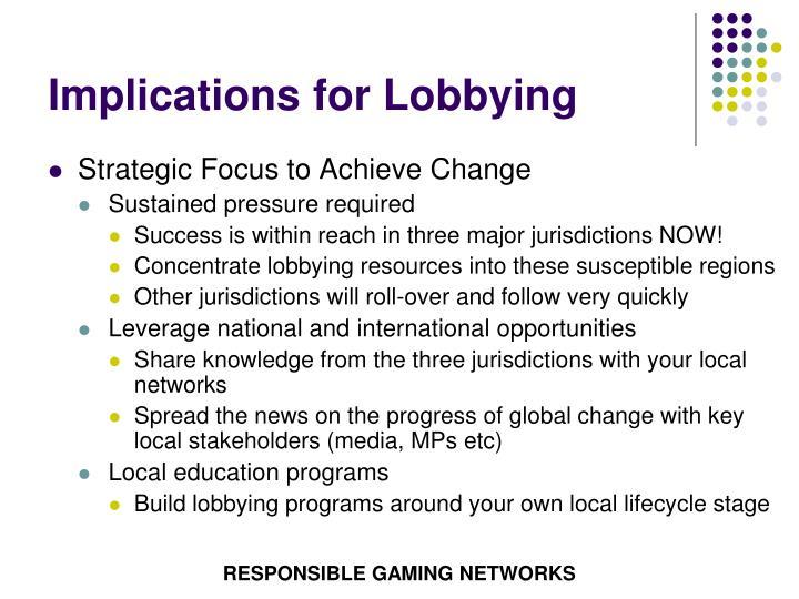 Implications for Lobbying