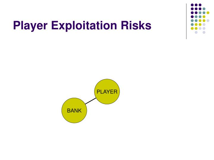 Player Exploitation Risks