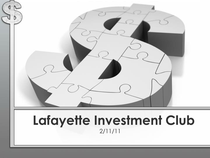 lafayette investment club
