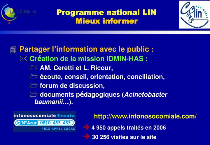 Programme national LIN