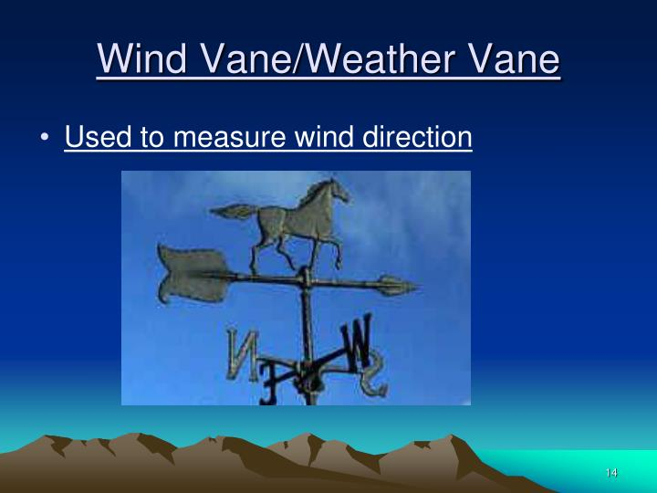 Wind Vane/Weather Vane