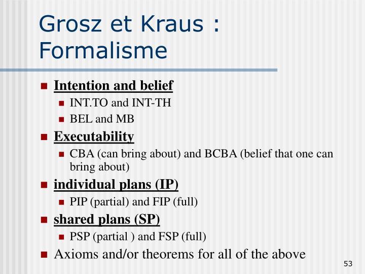 Grosz et Kraus :