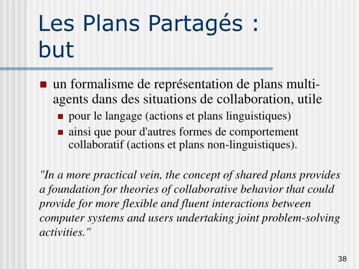 Les Plans Partagés :