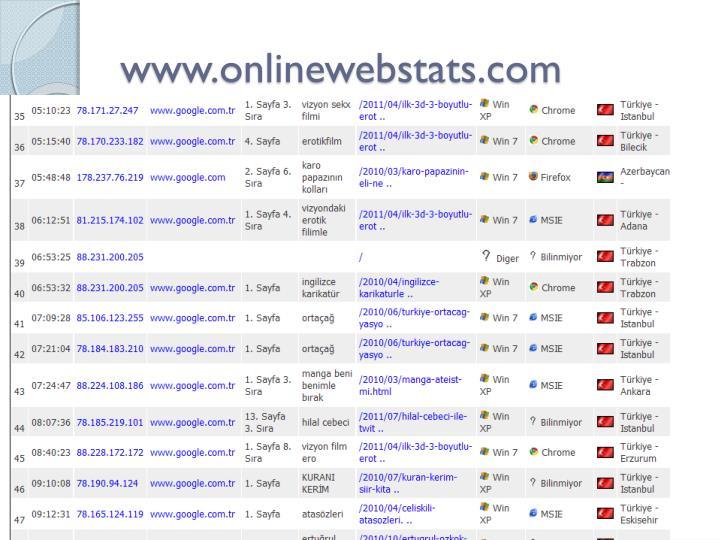 www.onlinewebstats.com