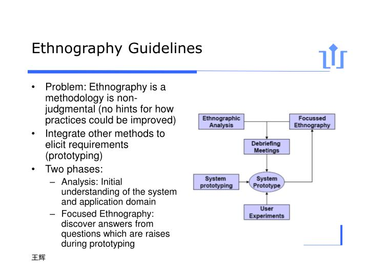 Ethnography Guidelines