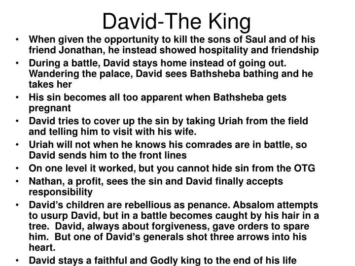 David-The King