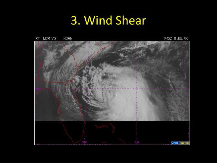 3. Wind Shear