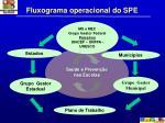 fluxograma operacional do spe