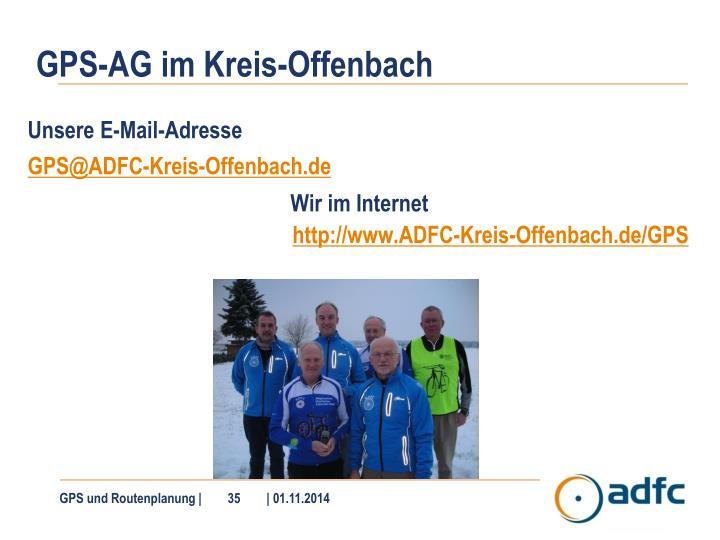 GPS-AG im Kreis-Offenbach