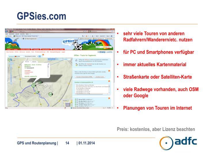 GPSies.com