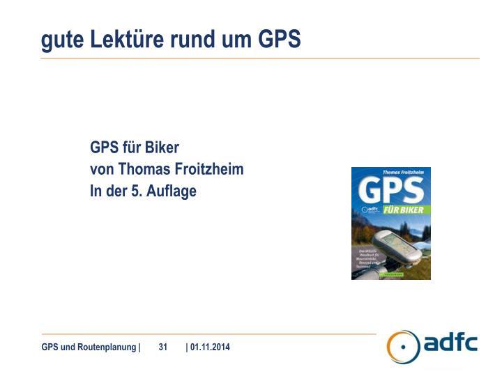 gute Lektüre rund um GPS