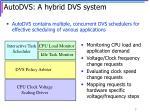autodvs a hybrid dvs system