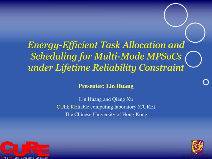 Energy-Efficient Task Allocation and Scheduling for Multi-Mode MPSoCs under Lifetime Reliability Con...