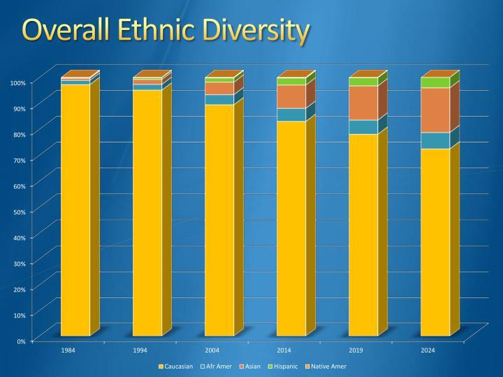 Overall Ethnic Diversity