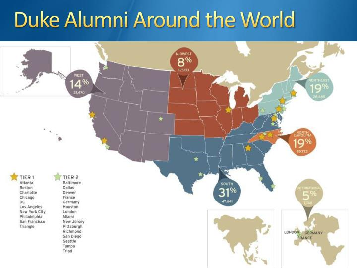Duke Alumni Around the World