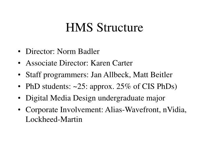 HMS Structure