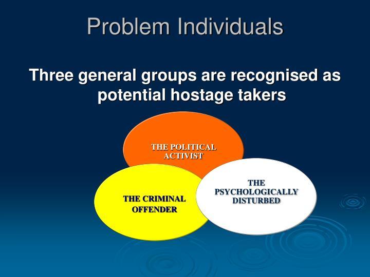 Problem Individuals