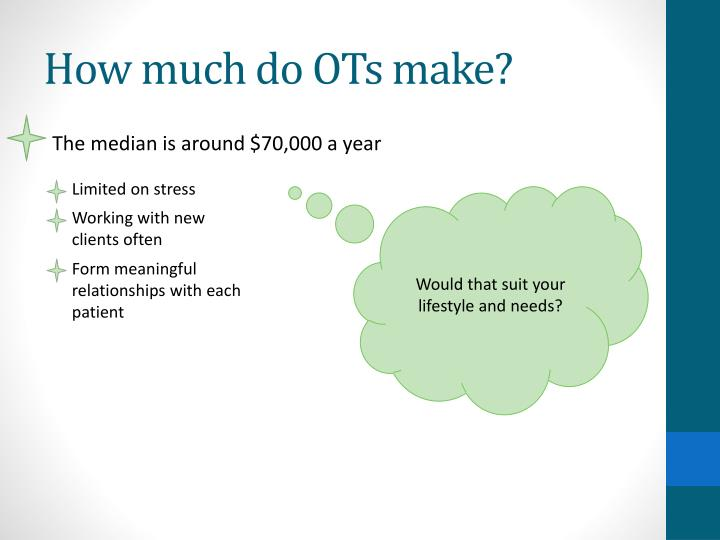 How much do OTs make?