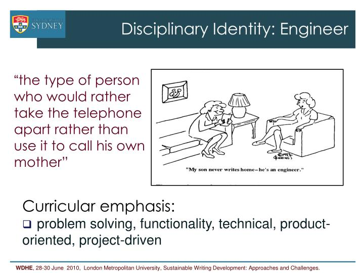 Disciplinary Identity: Engineer