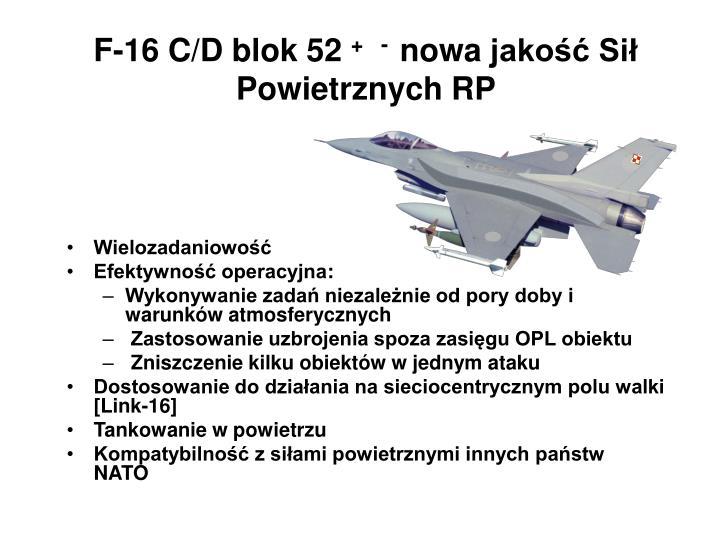F-16 C/D blok 52