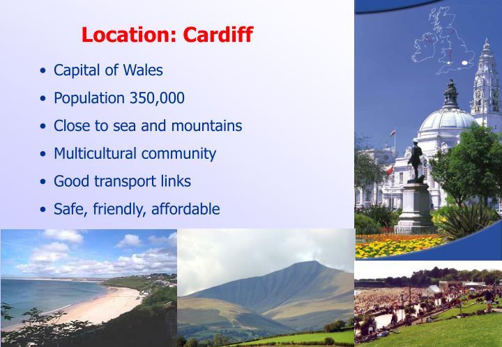 Location: Cardiff