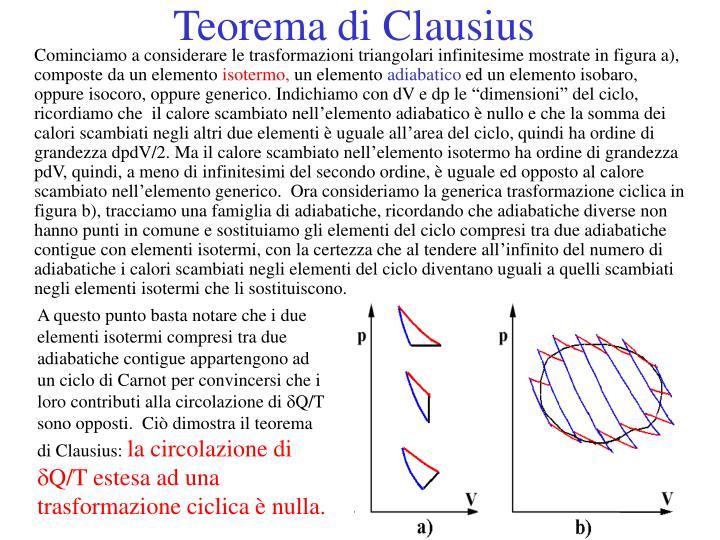 Teorema di Clausius